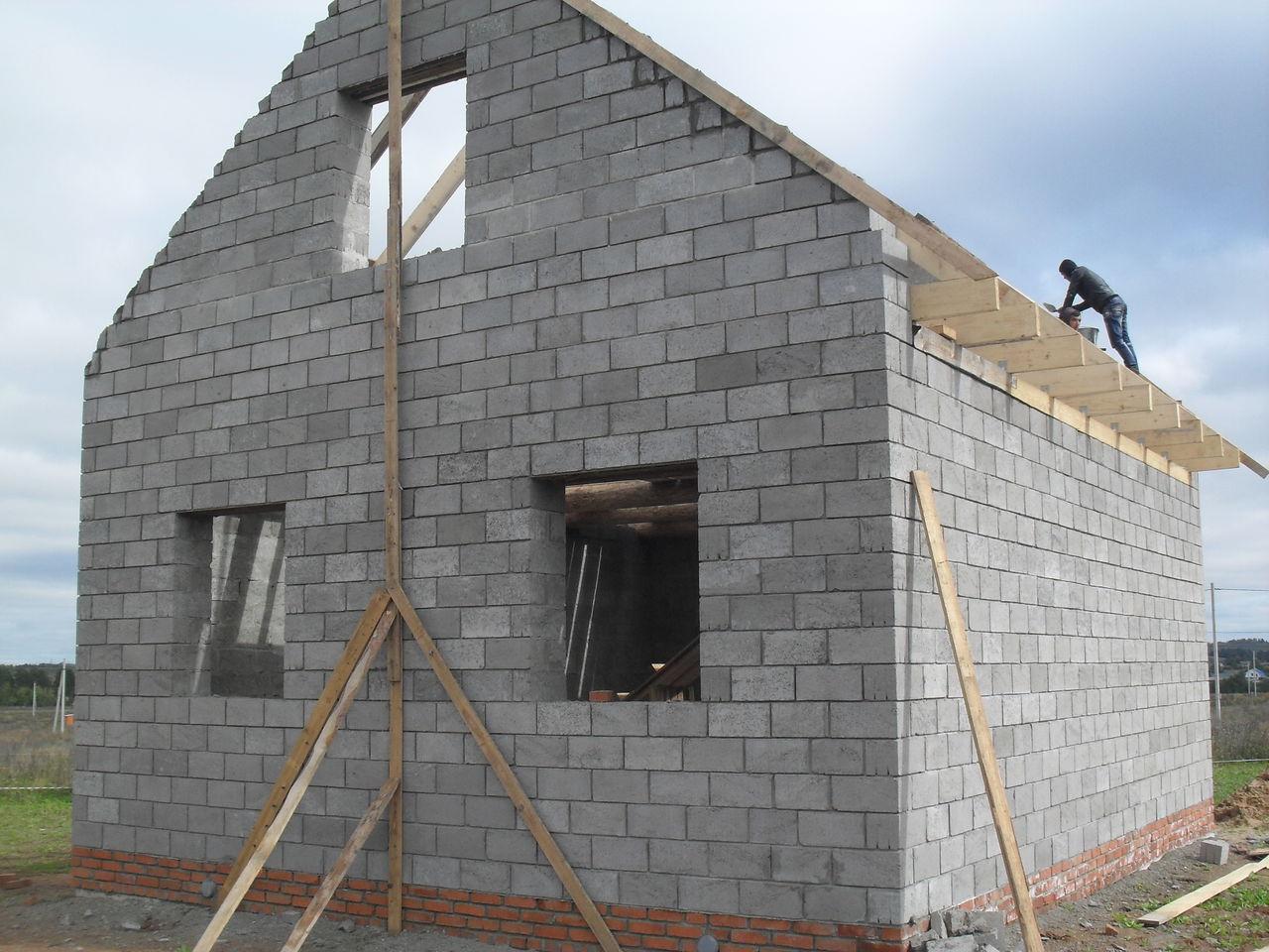 строительство дома из керамзитобетона